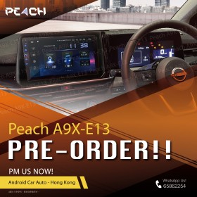 A9X-E13 (10.2-inch) For Nissan Note e-Power (Pre-Order 2-3 Weeks)