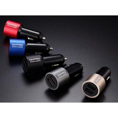 ONPRO GT-2P01 4.8A Dual USB Turbo Charger